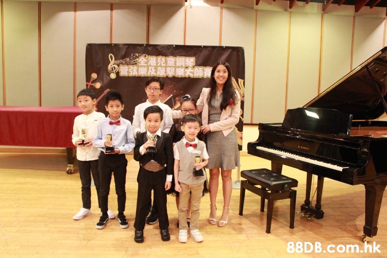 全港兒童銅琴。 管弦樂及敲擊樂大師寶 K. KAWAJ .hk  Recital,Piano,Pianist,Musical instrument,Event