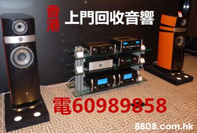 上門回收音響 60989858 .hk  Loudspeaker,Subwoofer,Audio equipment,Electronics,Product