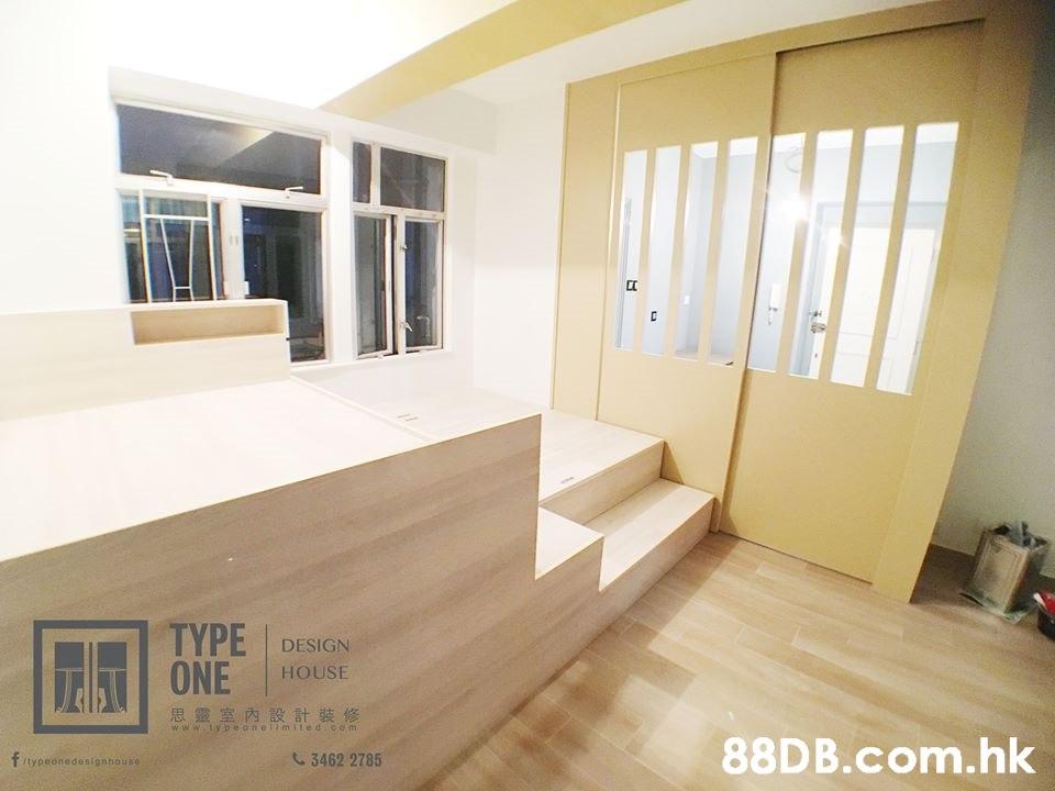 TYPE DESIGN HOUSE ESONE 思靈室內設計裝修 www.tybeonellmitedco m .hk C 3462 2785 Tlypeonedesignnouse  Property,Room,Floor,Building,Interior design
