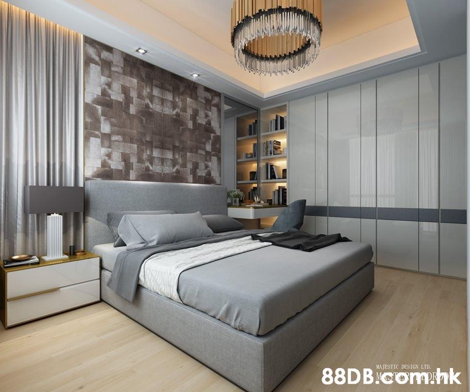 MAJESTIC DESIGN LTD. .hk  Bedroom,Furniture,Bed,Room,Interior design