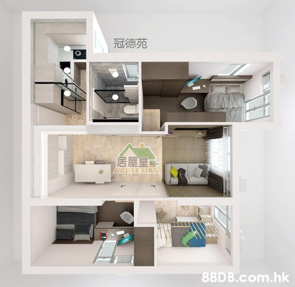 冠德苑 居屋皇 HOUSE KING .hk  Shelf,Shelving,Furniture,Property,Room