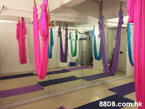 荔枝角多功能場地出租--可供空中瑜伽、地面瑜伽、TRX和排舞