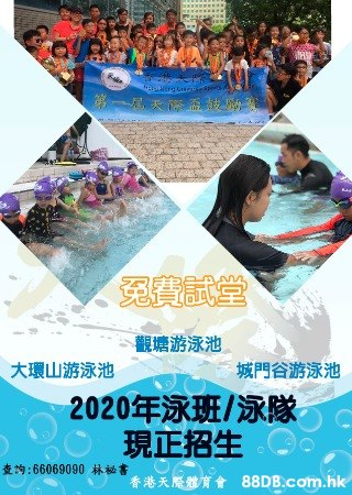 全年泳班 初學至泳隊訓練 限時暑期優惠!!